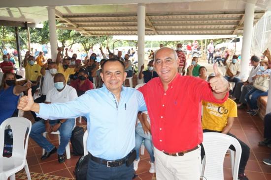 En Quilichao proclaman alianza por el futuro Eduardo Grijalba y Carlos Julio Bonilla