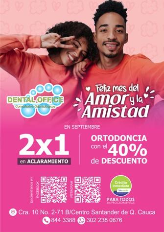 Feliz Mes del Amor y Amistad - Dental Office 2021