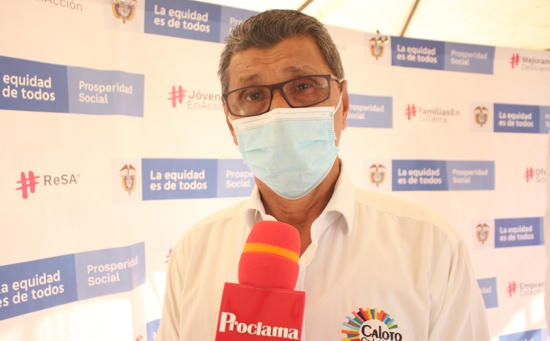 Gonzalo Ramírez, alcalde de Caloto, Cauca.