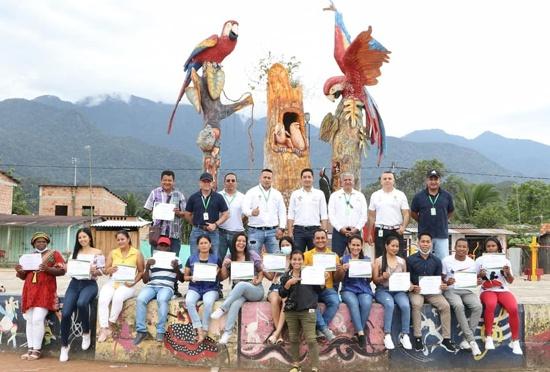 Impulsan buenas prácticas mineras en la Bota Caucana - Piamonte