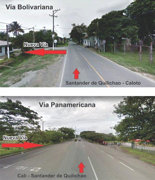 Inician obra que unirá la vía Panamericana con la Bolivariana en Quilichao - Barrio Niza