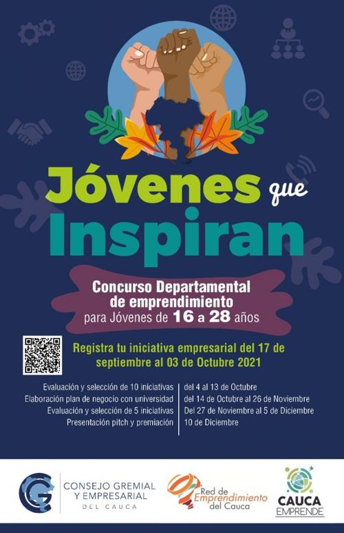 Jóvenes que Inspiran - Concurso Departamental de Emprendimiento