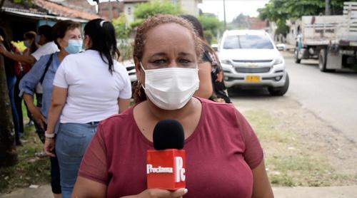 Katy Lorena Zapata, presidenta de la junta de acción comunal del barrio Niza - Santander de Quilichao