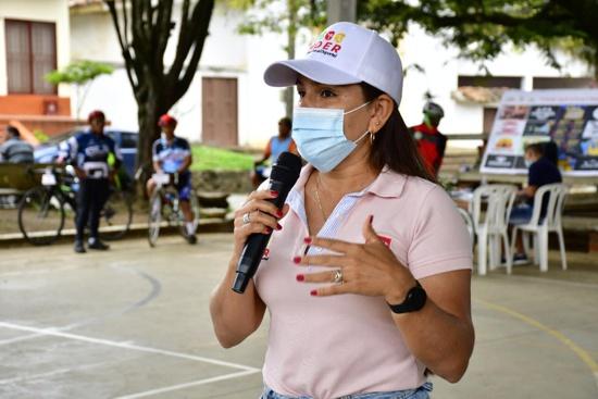 Lorena Salazar, directora IMDER Quilichao