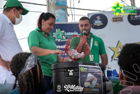 Lotería del Cauca se tomó la costa pacífica con la caravana de premios