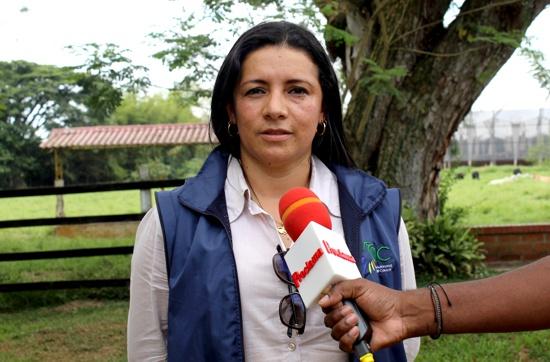 María Victoria Velasco, funcionaria de la subdirección de Gestión Ambiental de la CRC