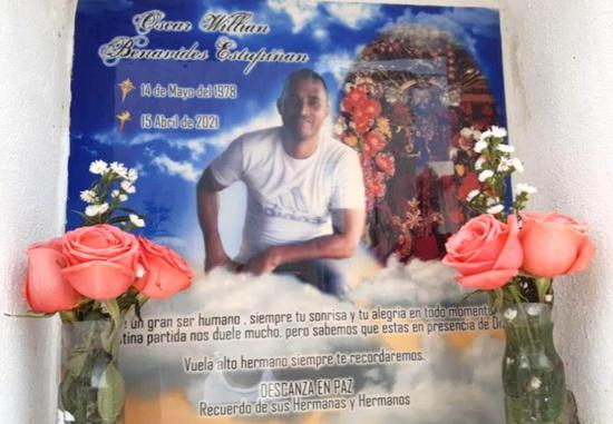 Oscar William Benavides, líder social asesinado en Tumaco