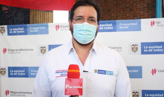 Pierre García Jacquier, subdirector general de Programas y Proyectos del Departamento para la Prosperidad Social.