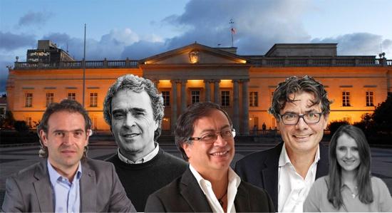 Se agita campaña electoral para la presidencia en Colombia