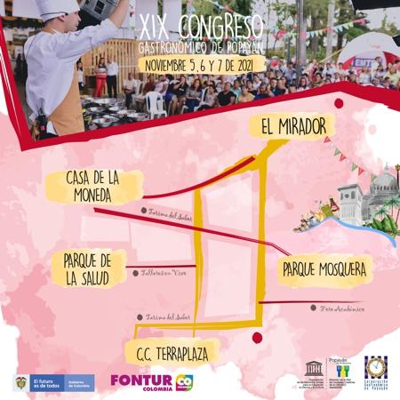 Se aproxima la fiesta de saberes y sabores en Popayán - Congreso Gastronómico de Popayán 2021