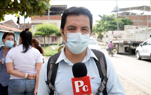 Walter Pedraza, ingeniero civil de la obra que unirá la vía Panamericana con la Bolivariana en Quilichao