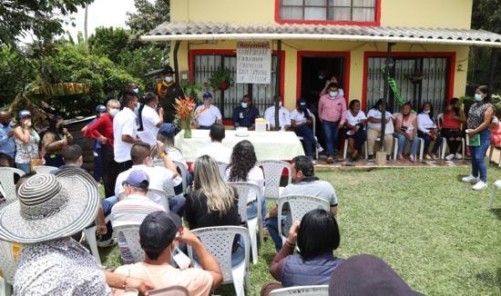 Desde la zona rural de Popayán, Gobierno Departamental lideró diálogo con comunidades.