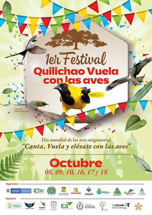 """Primer Festival de Avistamiento de Aves """"Quilichao vuela con las aves"""""""