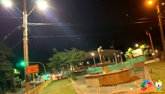 Barrios y veredas de Puerto Tejada cuentan con mejor iluminación