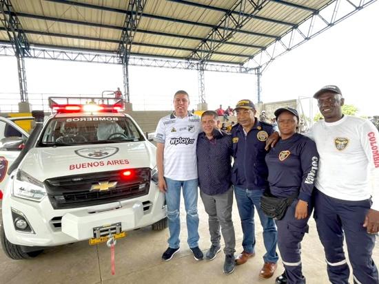 Buenos Aires cuenta con nuevo vehículo para el Cuerpo de Bomberos
