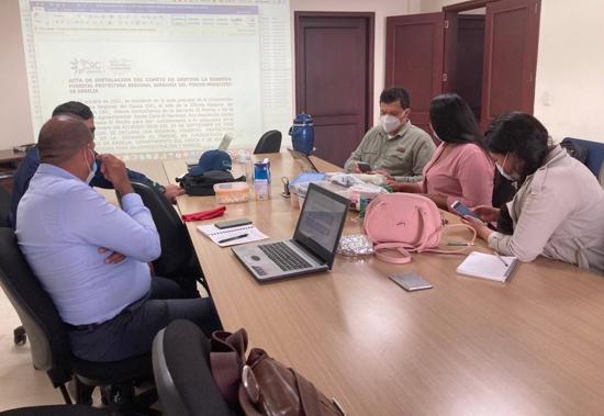 CRC consolida comité interadministrativo para el manejo de reserva forestal