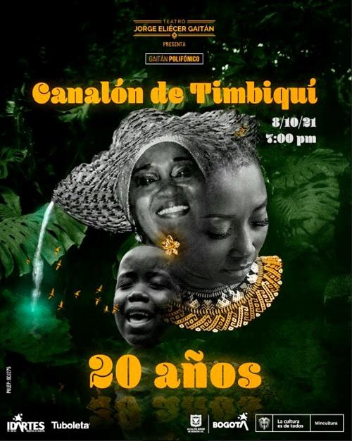 Canalón de Timbiquí: 20 años conservando identidad