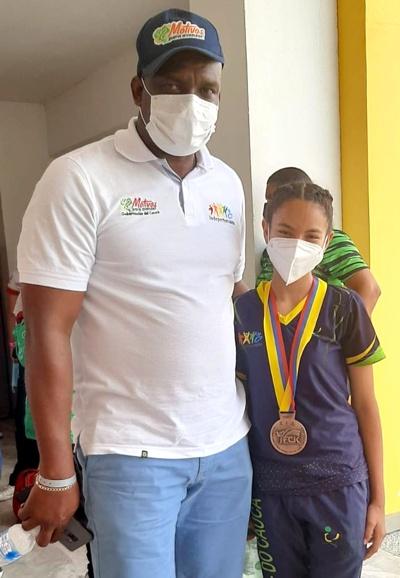 Cauca se destacó en Campeonato Nacional de Karate - Oliver Carabalí Banguero, gerente de Indeportes Cauca
