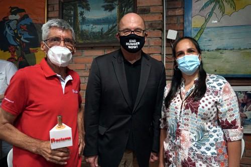 Alfonso Luna Geller, James Patrick McGovern y Lucy Amparo Guzmán González