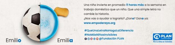 Día Internacional de la Niña - Fundación PLAN Colombia - Donaciones