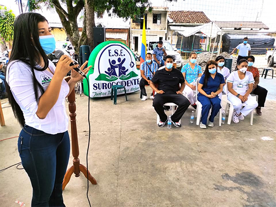 ESE Suroccidente reactiva puesto de salud de San Joaquín, en Mercaderes