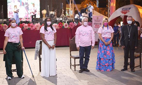 Cauca se vistió de rosa para crear conciencia frente al Cáncer de Mama