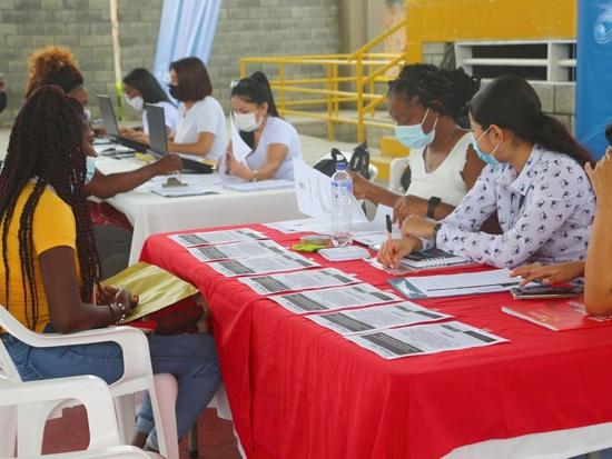 Feria de Empleabilidad en Guachené