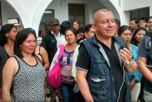 Nilson Liz Marín, líder campesino anuncia concentraciones en vía Panamericana en Cauca