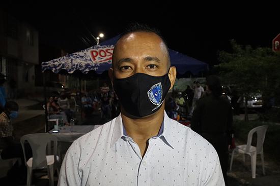 Willington Garzón Medina, gerente del proyecto de la Cooperativa de Seguridad Comunitaria - Chicao